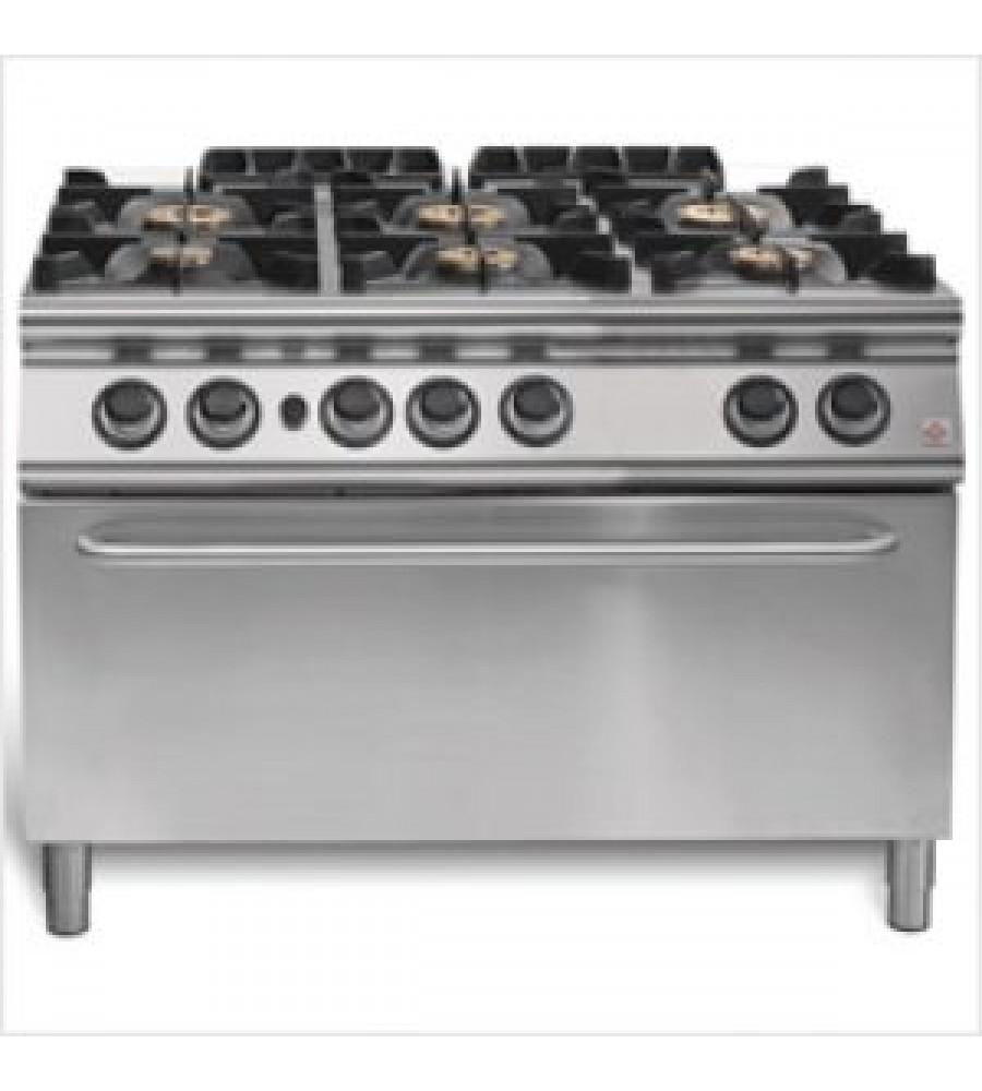 Gas Cooker Model EM 90/120 CFGG