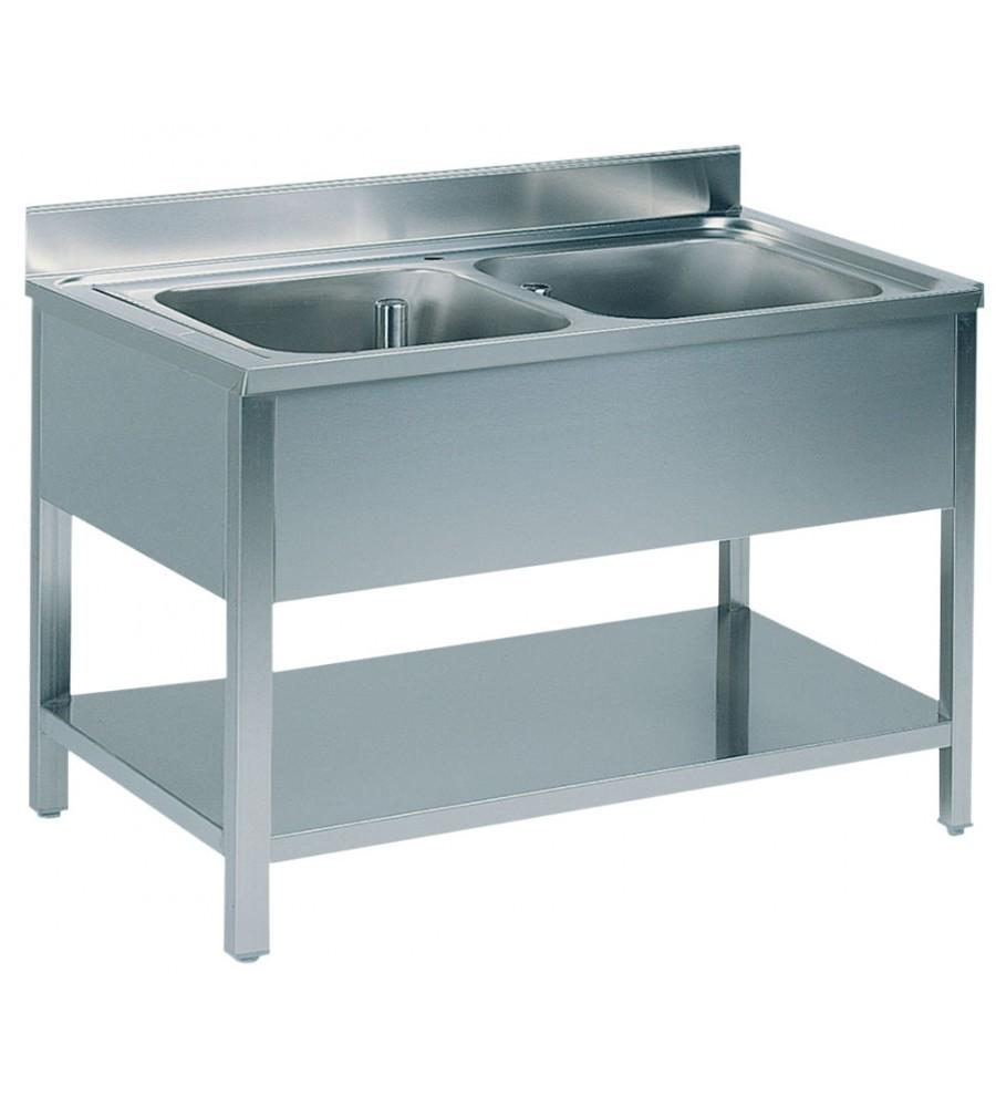 Sink Double Bowl Size: 120X70