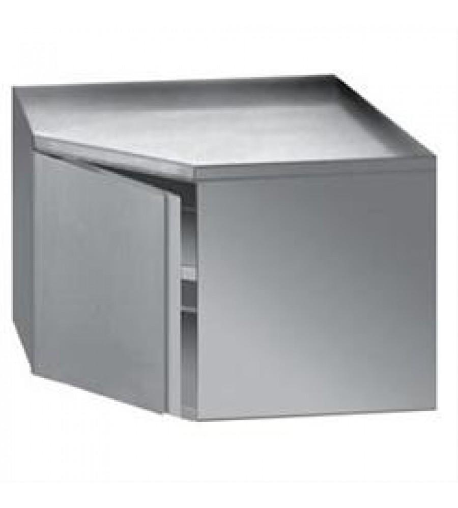 S/Steel Corner Wall Cabinet Model DPPBA-07