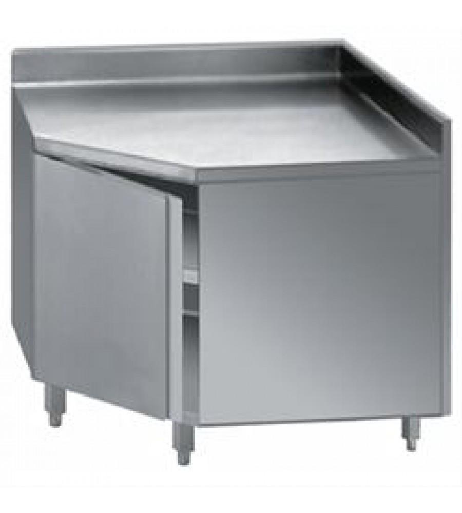 S/Steel corner base cabinet Model DTANA-110