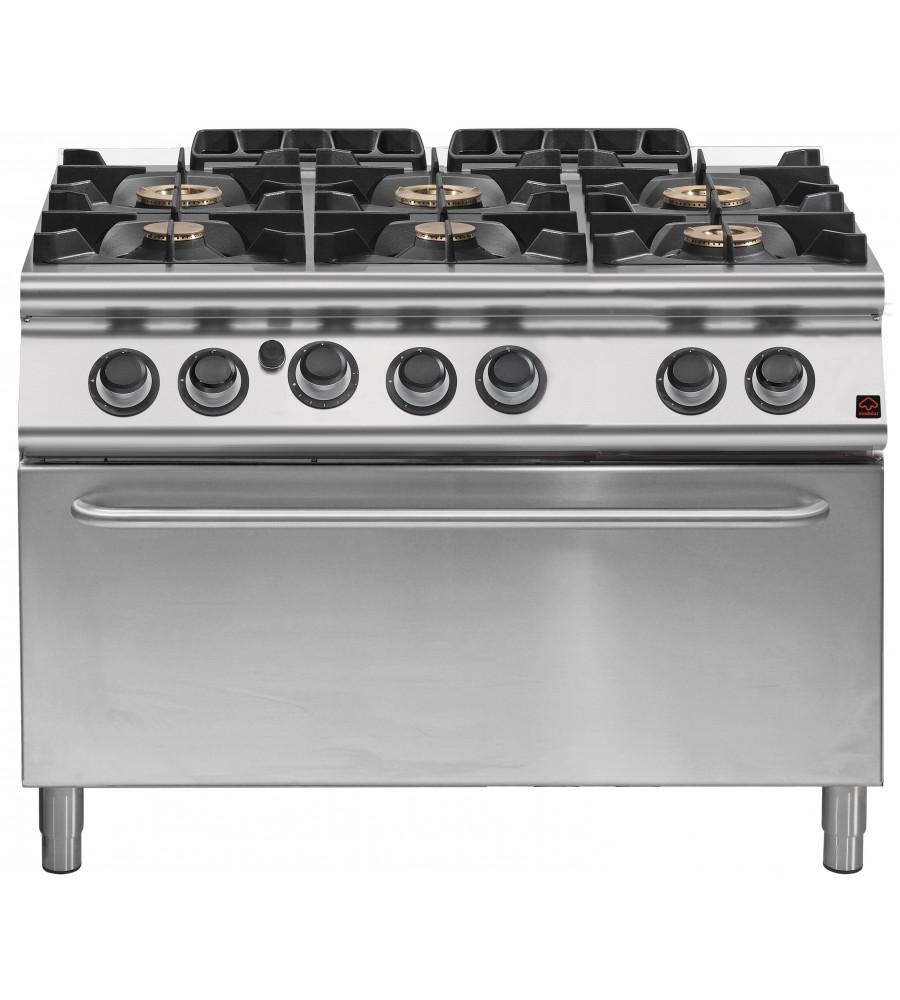 Gas Cooker Model EM 70/120 CFGG