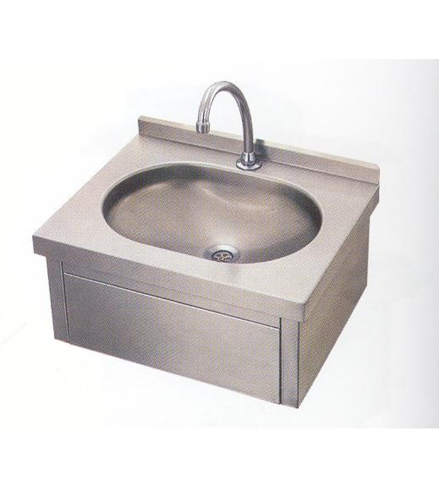 Knee Operated Hand wash sink.