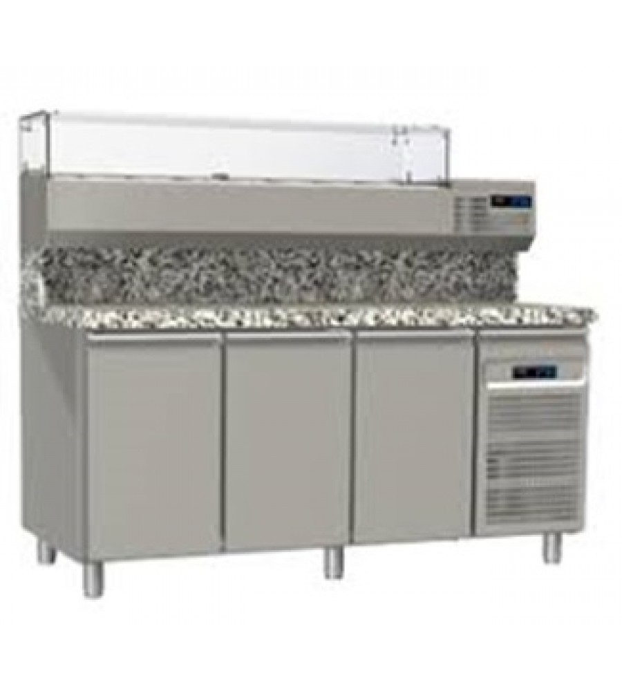 Pizza Refrigerated Counter Model MG8-182VP-PPP