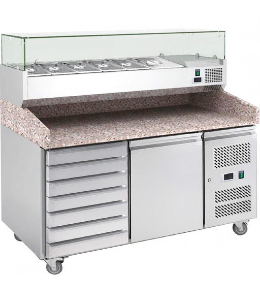 Pizza Refrigerated Counter Model PZ1610TN/380